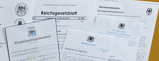 Reichsbürger Und Selbstverwalter